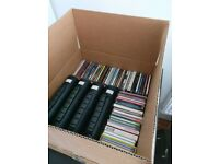 CD Collection, 60 albums, 100 singles, 22 compilation albums (primarily dance / electronic)