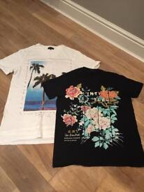Men's river island t-shirts medium