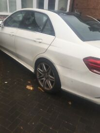 Mercedes E250 2015 AMG Diamond White