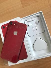 iPhone 7 Red 128GB Unlocked NEW!