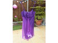 Debenhams Debut Dress - Purple