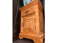 Solid wood bedside table needs some tlc