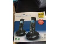 BT Graphite 2100 Twin Pack 2 digital cordless phones boxed