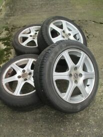Vauxhall Corsa 'C' (3rd generation) wheels and tyres