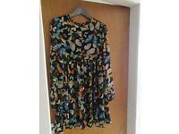 Butterfly long sleeved Asos dress