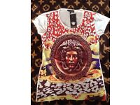 VERSACE T-shirt Colored or White / Colored