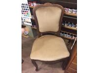 French Style Hardwood Chair