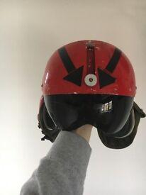US NAVY Gentex pilots helmet 1970's