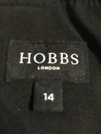 For sale size 14 Hobbs of London black evening cocktail dress in