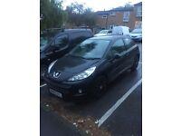 Peugeot 1.4 2009 3 Door Black