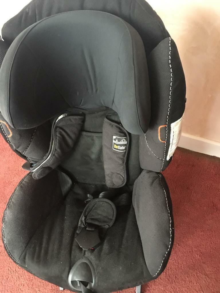 BeSafe car seat - rearfacing isofix