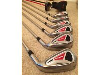 Adams golf irons 4-pw & 2 hybrids