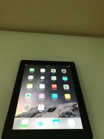 APPLE 9.7 INCH IPAD2 16GB BLACK TABLET(WIFI+CELLULAR)(EXCELLENT CONDITION)