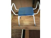 Perching / leaning stool very good condition