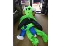 Alien fancy dress costume