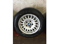 Bmw e30/e36 alloy wheels