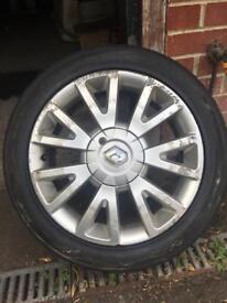 "Renault Clio Mk3 16"" Canesta alloy wheel"