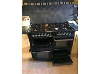 Flavvel oven double cooker electric and gas