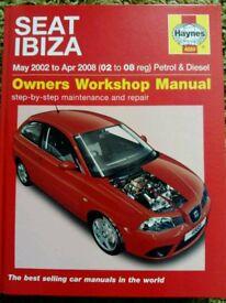 Seat ibiza Haynes manual