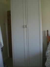 Used single white wardrope for Sale