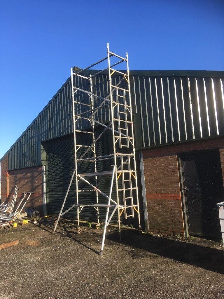 Boss Scaffolding Narrow Tower 6 5m In Heywood