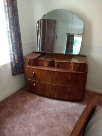 Beautiful Dressing Table with Mirror