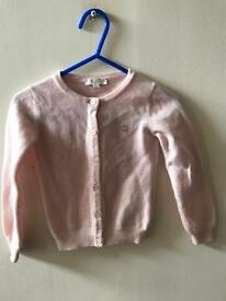 Gucci pink baby girl cardigan age 12/18