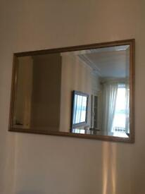 MIRROR GOLD FRAME