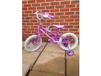 "Disney Princess 14"" wheel bike"