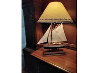 Sailing boat lamp