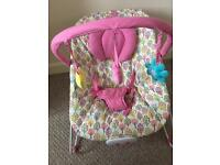 Mothercare baby bouncer bouncy chair