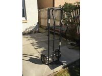 Heavy duty metal trolley.