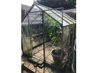 Free to collect greenhouse butts pots garden stuff