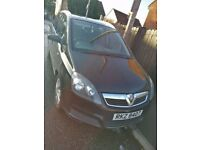 7 seater Vauxhall Zafira, MOT until September 18