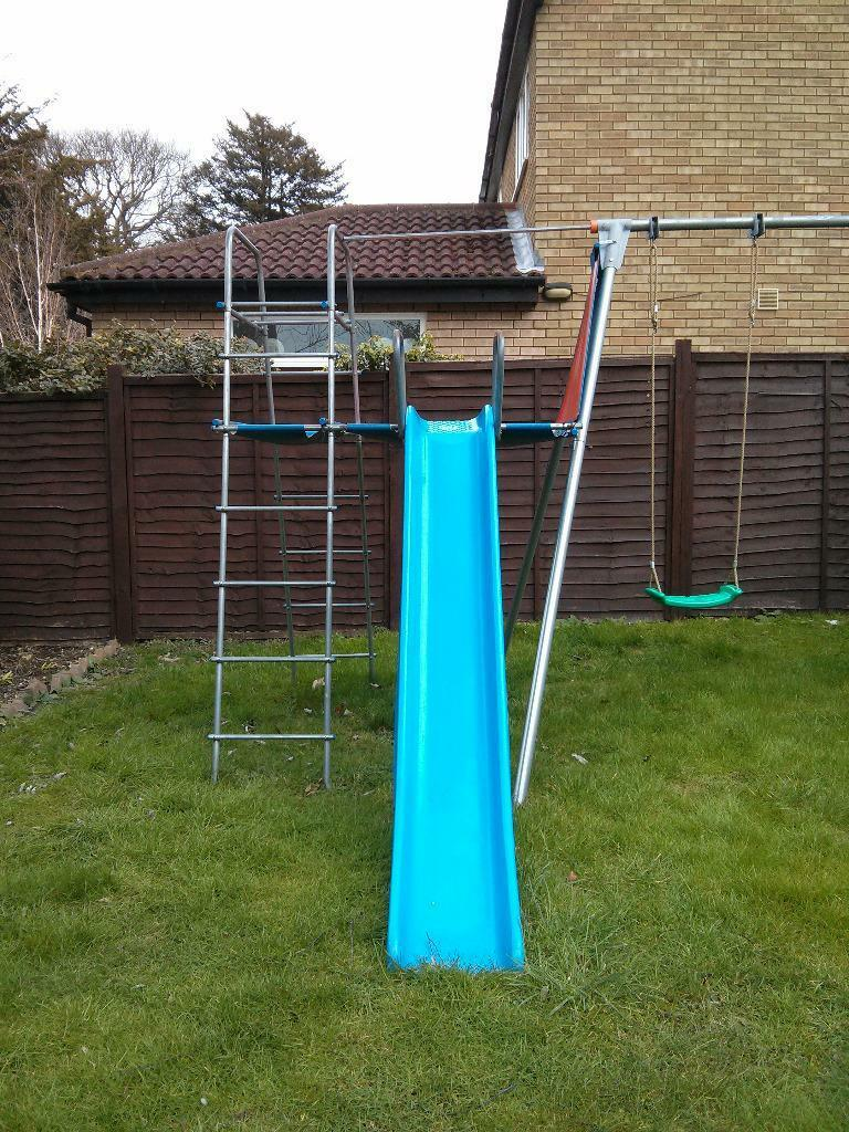 TP Double swing, slide, climbing frame and accessories £80 | in ...