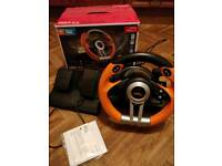 SpeedLink Drift O.Z. racing wheel for xbox and pc