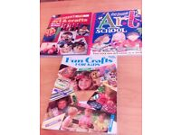 Children's Craft books.