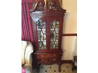 Display Cabinet with Drawers - Excellent Condition