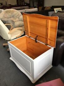 ** PINE BLANKET BOXES IN GOOD CONDITION **