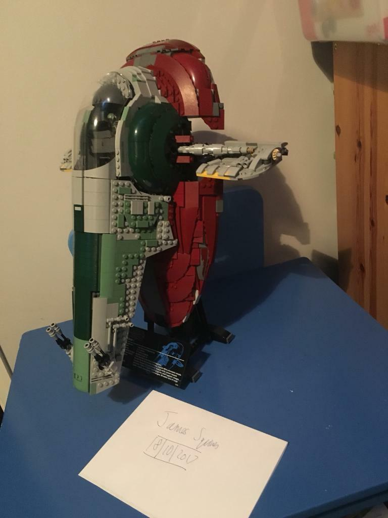 Lego Star Wars Slave 1 Ultimate Collectors Series