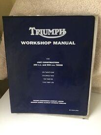 Triumph Motorcycle workshop Manual