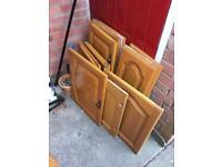 Solid wood Kitchen Doors £40