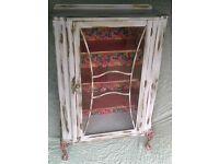 Vintage display cabinet.