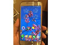 Samsung S6 unlocked bought from Argos, hardly used, almost new.