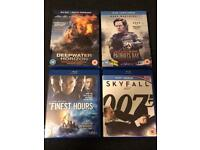 4 Action Thrillers on Blu-Ray