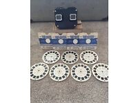 VINTAGE SAWYERS VIEWMASTER/STEREOSCOPE BOXED WITH REELS JOBLOT