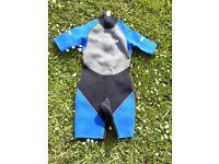 Man's Blue Rush shortie Wetsuit