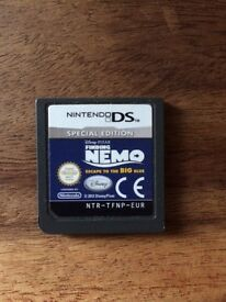 Nintendo DS game Finding Nemo special edition