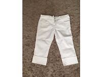 Size 14 cropped fitted jeans - new without tags