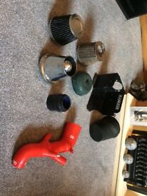 Golf / seat / Audi silicone intake pipe air filters and surround